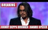 Johnny Depp's Bizarre Speech at the Hollywood Awards